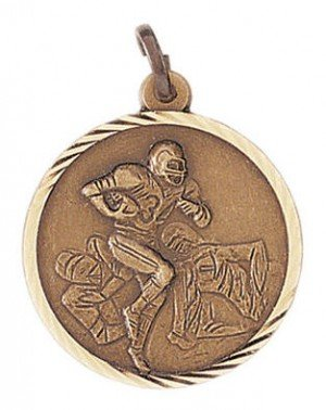 Football Sunray Medal