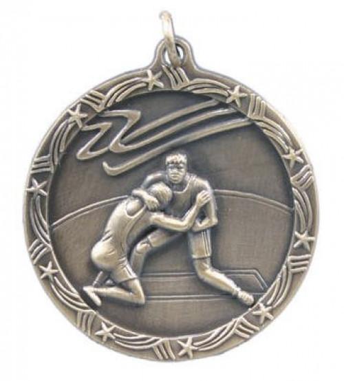 Wrestling Star Medal