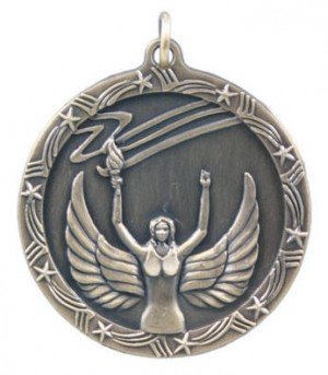 Victory Star Medal 2 3/4 Inches