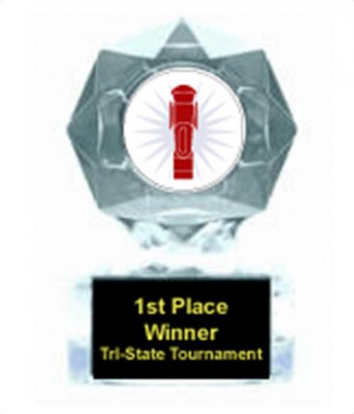Foosball Clear Star Award