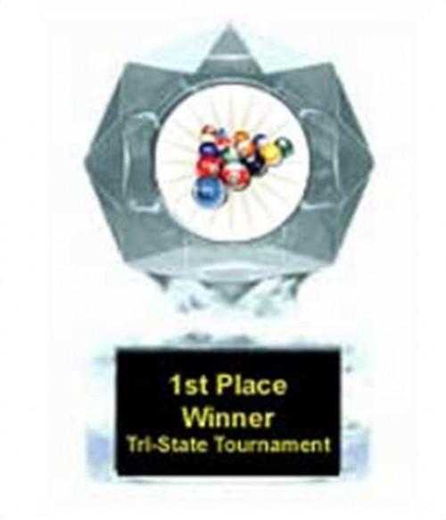 Billiard 2 Clear Star Award