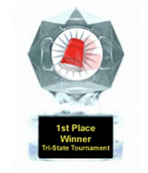 Flip Cup Clear Star Award