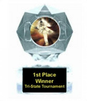 Karate Clear Star Trophy
