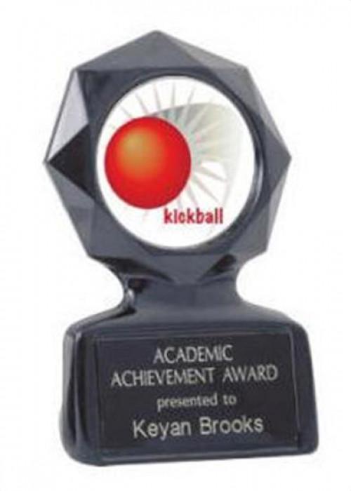 Black Star Kickball Trophy