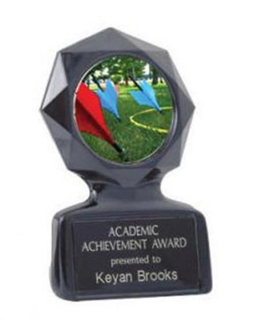 Black Star Lawn Dart Trophy