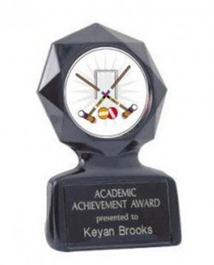 Black Star Croquet Trophy