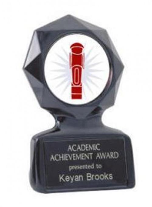 Black Star Foosball Trophy