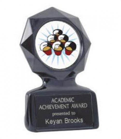 Black Star Beer Pong Trophy