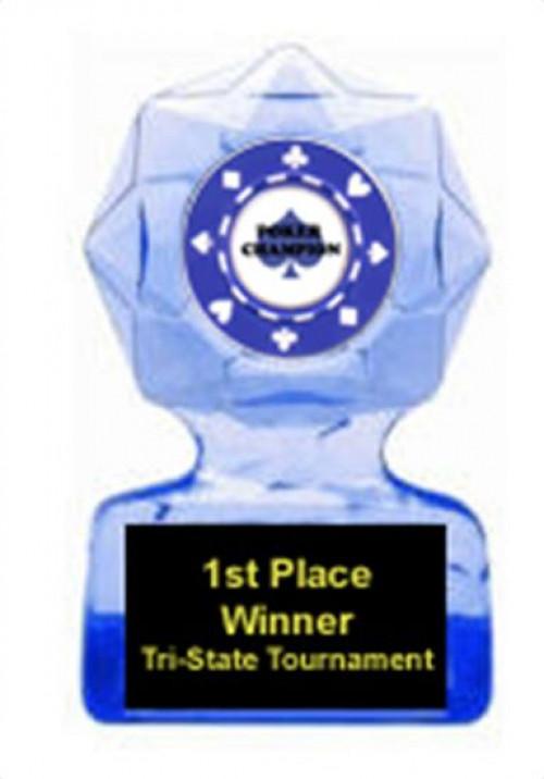 Poker Blue Star Award