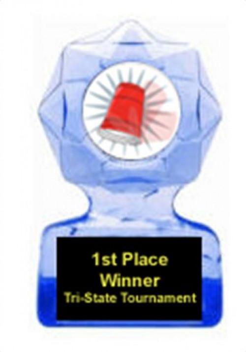 Flip Cup Blue Star Award