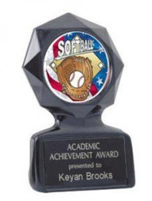 Softball Black Star Trophy