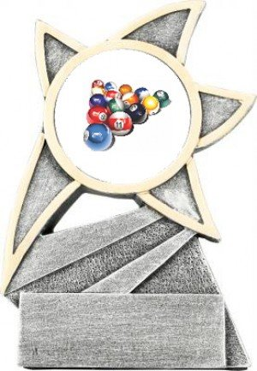 Billiard Jazz Star Trophy
