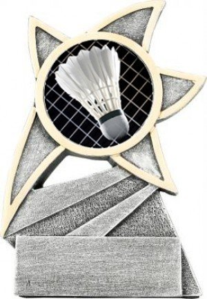 Badminton Jazz Star Trophy