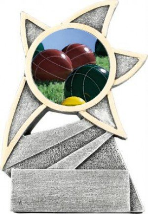 Bocce Ball Jazz Star Trophy