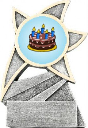 Cake Decorating Jazz Star Trophy