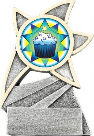 Cupcake Jazz Star Trophy