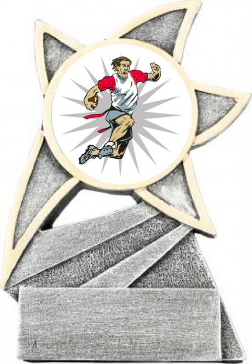 Flag Football Jazz Star Trophy