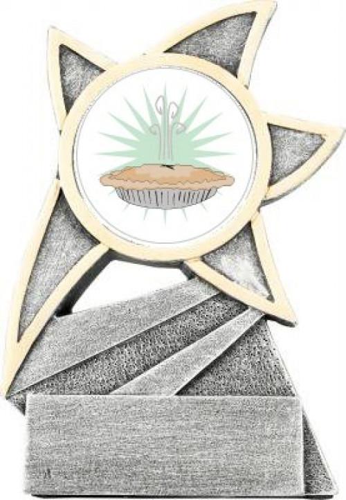 Pie Cook Off Jazz Star Trophy