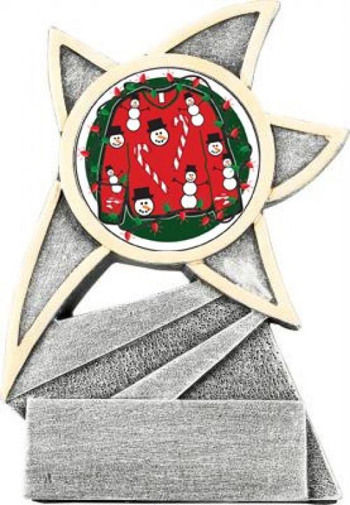 Ugly Sweater Jazz Star Trophy