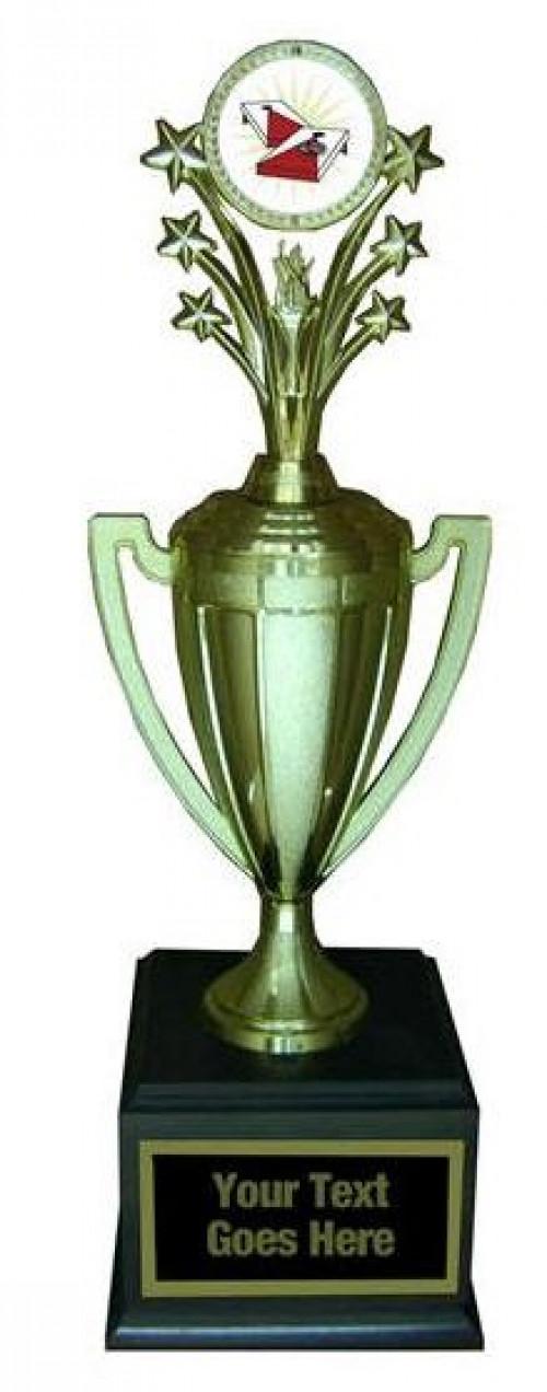 Cornhole Gold Cup Trophy