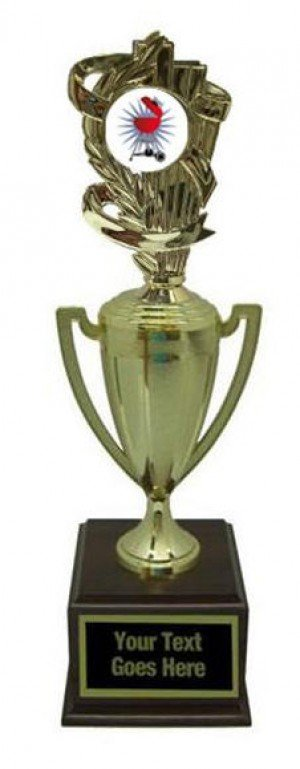 Barbecue Gold Cup Trophy