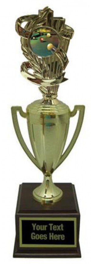 Billiard 1 Gold Cup Trophy
