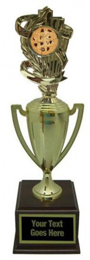 Cookie Bake Off Gold Cup Trophy