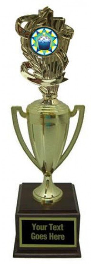 Cupcake Gold Cup Trophy