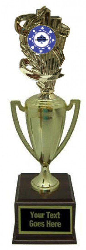 Poker Gold Cup Trophy