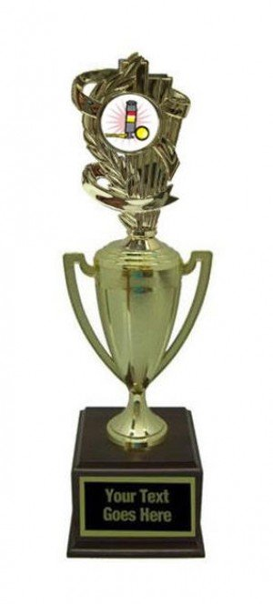 Ring A Pin Gold Cup Trophy