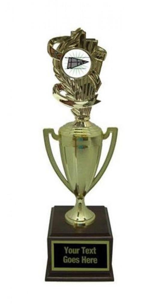 Shuffleboard Gold Cup Trophy