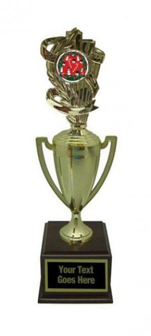 Ugly Christmas Sweater Gold Cup Trophy