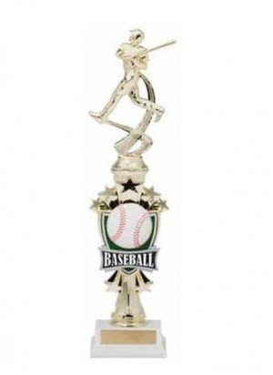 Baseball Shooting Star Riser Trophy