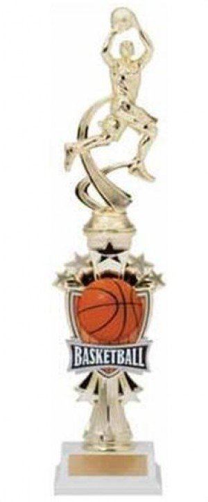 Basketball Male Shooting Star Riser Trophy
