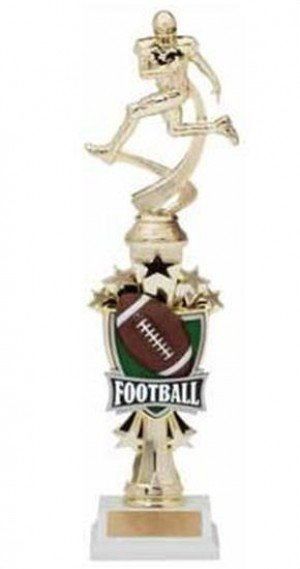 Football Shooting Star Riser Trophy
