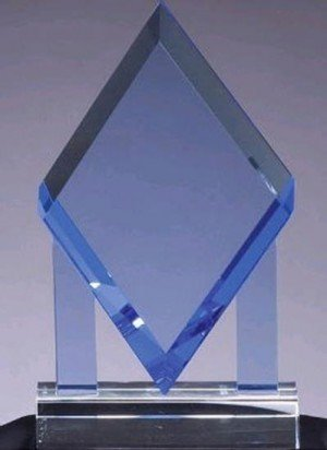 Blue Diamond Crystal Award