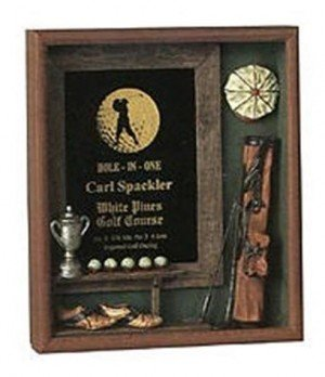 Golf Shadow Box