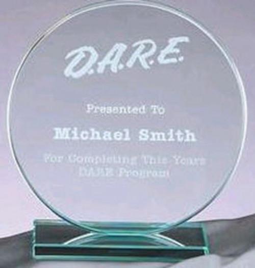Jade Circle Glass Award