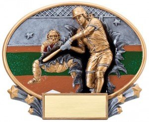 Softball Explosion Oval Trophy