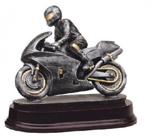 Racing Motorcycle Trophy