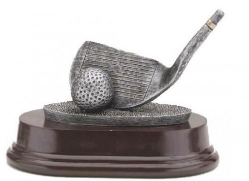 Golf Club Wedge Trophy 4 Inch