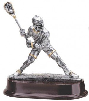 Male Lacrosse Shooter Trophy