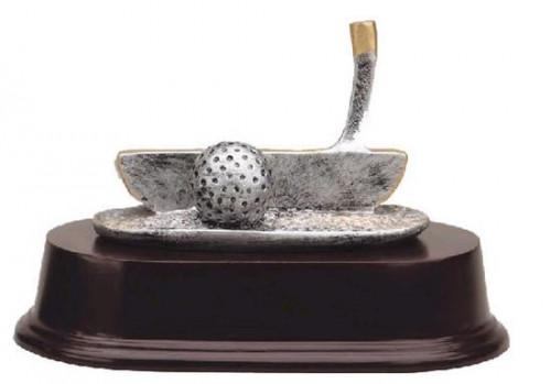 Golf Club Putter Trophy