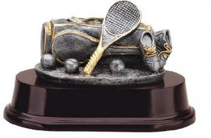 Tennis Bag Trophy
