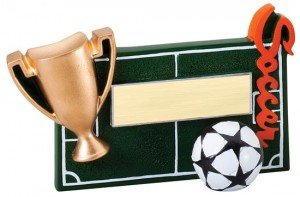 Soccer Winners Cup Resin Trophy