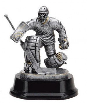 Hockey Goalie Trophy 4 Inch