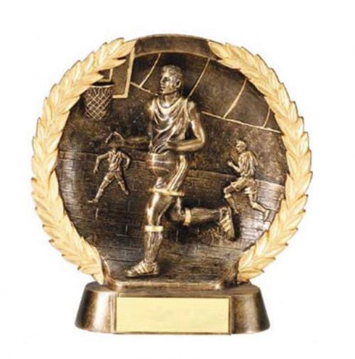Male Basketball Trophy 7 1/2 Inch