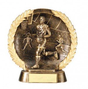 Male Basketball Trophy 7 1/2 Inch