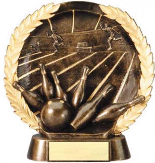 Bowling Trophy 7 1/2 Inch