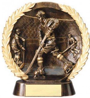 Hockey Trophy 7 1/2 Inch